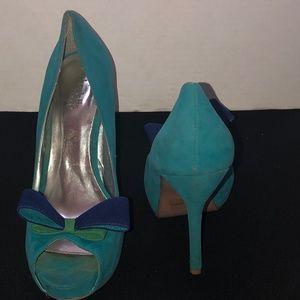 Charlotte RusseTeal Blue Platform heels